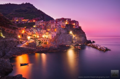 Dawn of a New Day, Manarola, Cinque Terre, Italy