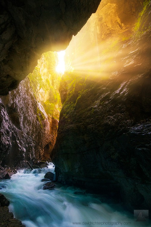 Ethereal Gorge, Partnach, Bavaria, Germany