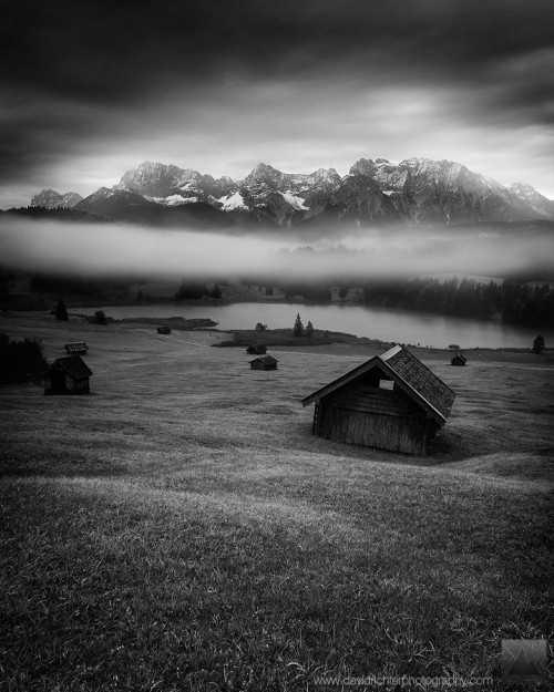 Sleeping Beauty, Karwendel, Bavaria, Garmisch